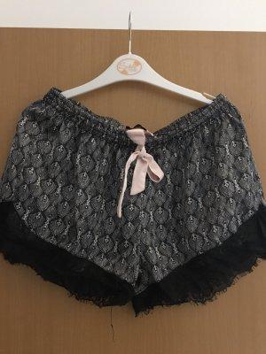 Hunkemöller Vêtement pour la maison noir-crème