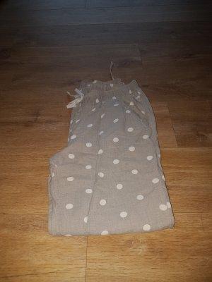H&M Pijama blanco-gris claro