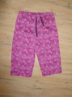 Schlafhose lila rosa Herz Buffalo