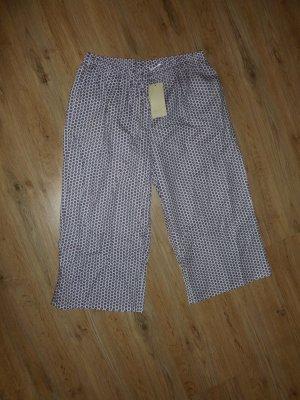 She Pijama blanco-violeta oscuro Algodón