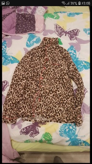 Primark Pyjama zwart-bruin