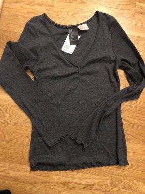H&M Pyjama antraciet-donkergrijs