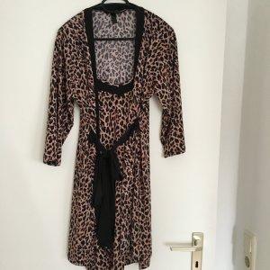 Robe de chambre noir-brun