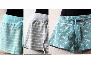 Shorts multicolore Tessuto misto