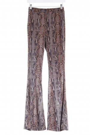 Flares animal pattern casual look