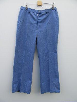 Schlaghose blau Vintage Retro Gr. 46