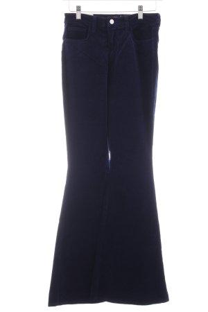 Schlaghose dunkelblau Elegant