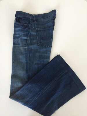Schlaghose Flared leg Jeans von Seven for all mankind Jeans Gr. 28 Boho Blogger Style