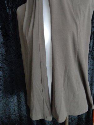 Gabi Lauton Pantalón de campana marrón grisáceo Viscosa