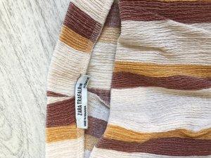 Zara Pantalón de campana multicolor