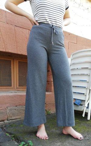 H&M Pantalón de campana gris-gris oscuro