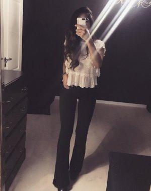 Zara Jeans a zampa d'elefante nero
