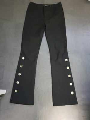 Zuiki Pantalon pattes d'éléphant noir