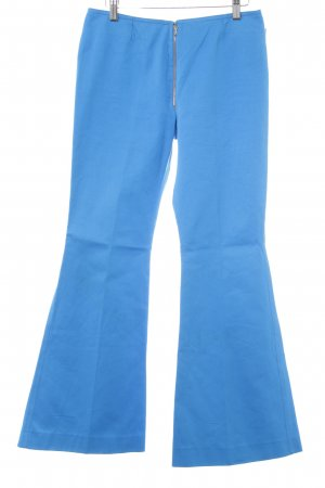 Flares neon blue '60s style