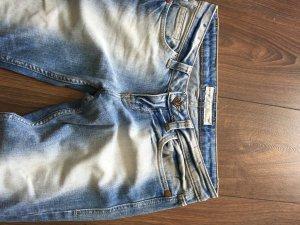 Fishbone Jeans a zampa d'elefante multicolore