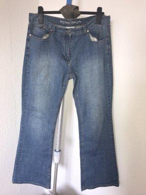 Gina Benotti Jeans a zampa d'elefante multicolore