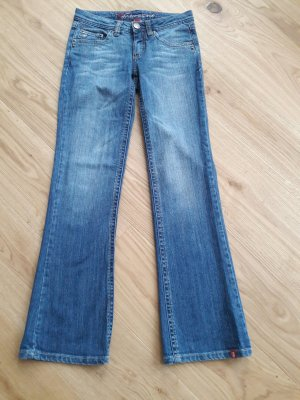 edc by Esprit Jeans a zampa d'elefante blu
