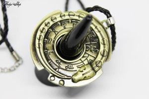 Collier bronze-noir métal