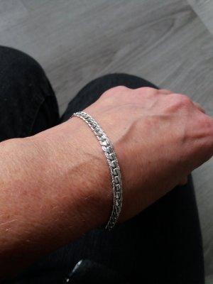 Schlangenförmiges mit 925er Silber pl. Silberarmband