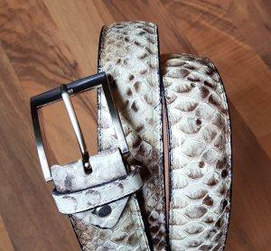 Schlangenleder Gürtel Ledergürtel Python