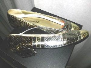 Schlangenleder- Schuh von Florsheim (USA) - Gr.4 A