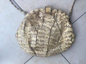Schlangenleder Vintage Crossbody Tasche