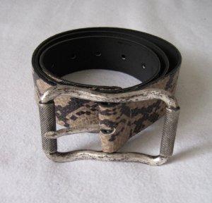Hallhuber Cinturón de cuero de imitación multicolor Sintético