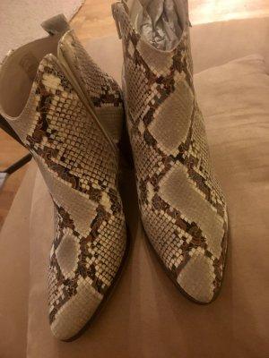 Schlangenlederoptik/ Phyton Boot neu