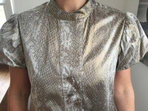 Diane von Furstenberg Vestido color plata-color bronce