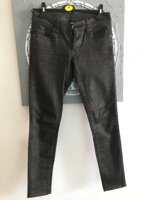 Schlangenmuster Jeans von Zara