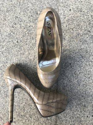 Schlangenoptik-Heels