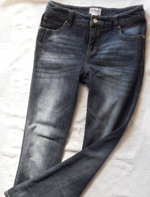 John Baner Jeans a vita alta blu acciaio-blu Cotone