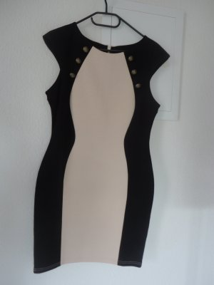 Lipsy Tube Dress black-beige
