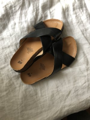 H&M Sandales confort noir
