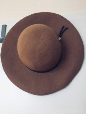 Esprit Vilten hoed camel