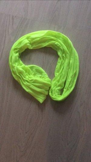 Schlauch Schal Loop Schal Neon gelb