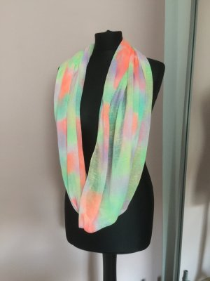 Schlauch Schal neon Farbe Sommer