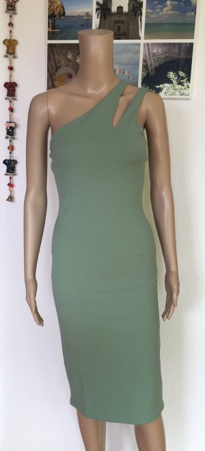 H&M Tube Dress sage green