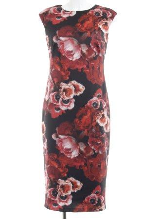 Vestido de tubo estampado floral elegante