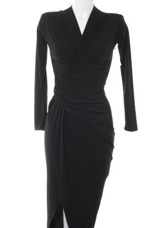 Vestido de tubo negro elegante