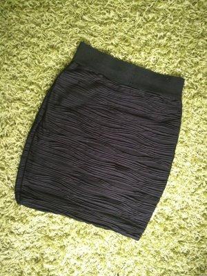 Schlauchrock schwarz High Waist