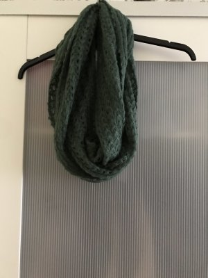 Madonna Tube Scarf dark green-forest green