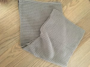 Pieces Knitted Scarf grey