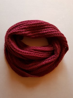 Primark Tube Scarf carmine cotton
