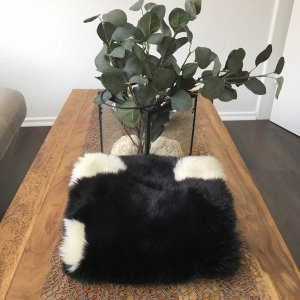 Zara Tube Scarf black-white