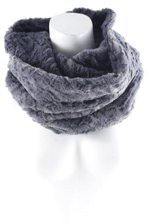 Bufanda tubo gris estilo extravagante