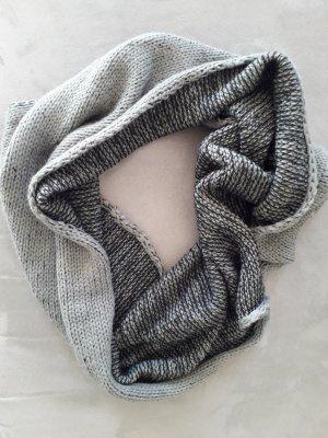 Écharpe tube noir-gris