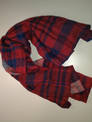 Tube Scarf neon red-blue