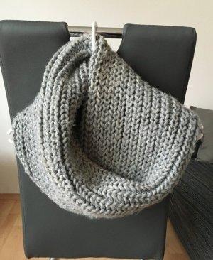Schlauchschal Loop Grau