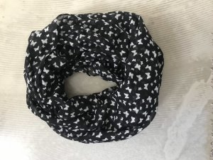 Tube Scarf black-white